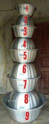 Série de 9 bassines