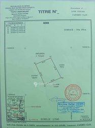 Vente Terrain 460 m² - Glo Fanto