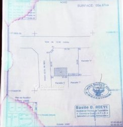 Terrain 587 m2 - Calavi Sodjènountin