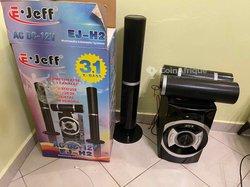 E.jeff ej-h2 multimédia woofer 3.1 x-bass