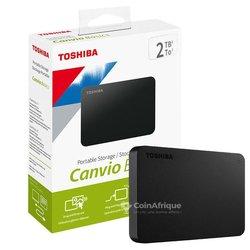 Disque dur Toshiba Canvio  - 2 To