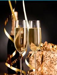 Verres à eau - champagne - vin