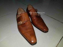Chaussures à boucles cambridge gold - bartons