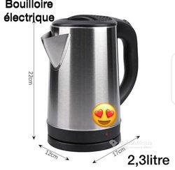 Bouilloire électrique 2.3L