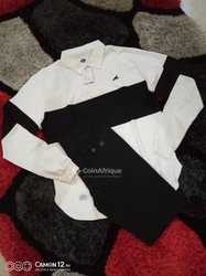 T-shirt Polo manches longues + pantalon