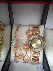 Ensemble montre et bijoux