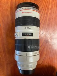 Objectif Canon 70 200 mm