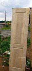 Fabrication portes en bois framiré
