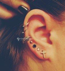 Piercing oreilles et nez