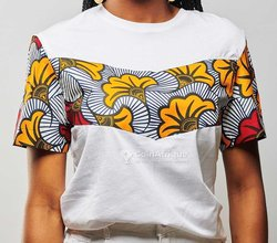 Tee-shirt femme - blanc