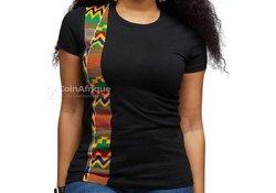 Tee-shirt femme - noir