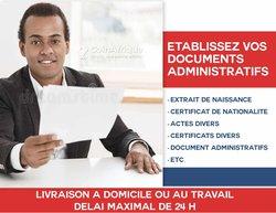 Établissez vos documents administratifs