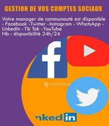 Gestion comptes sociaux
