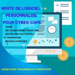Logiciel personnalisé pour cyber café