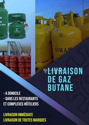 Livraison de gaz butane