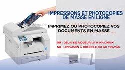 Service d'impressions et photocopie