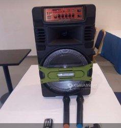 Baffle rechargeable + 2 micros sans fil