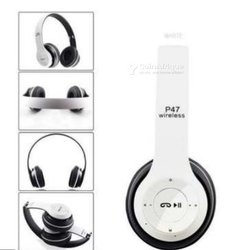 Casque P47 Bluetooth blanc