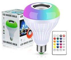 Ampoule multicolore à bluetooth