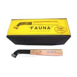 Couteau hévéa manche bois Fauna