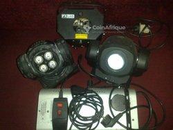 Pack jeux de lumière LED + fumigène