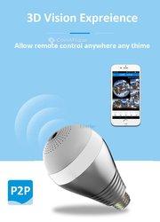 Ampoule LED à caméra de surveillance