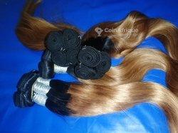 Cheveux indiens - 2 tons