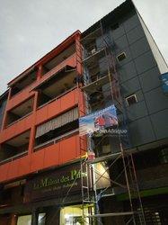 Revêtements de façade en alucobond aluminium vitre ferronnerie inox