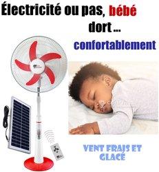 Ventilateur rechargeable Green Keeper