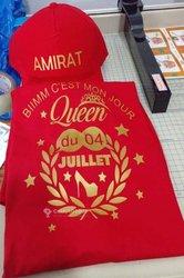 T-shirts personnalisés d'anniversaire