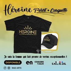 T-shirt + casquette Héroïne