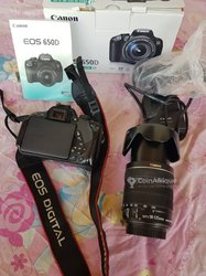 Appareil photo Canon 650D