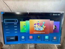 """Smart TV incurvé 4K Smart Technology Android - 55"""" + Wifi"""