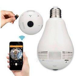 Ampoule caméra de surveillance avec wifi