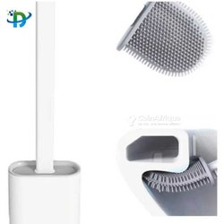 Brosse de toilette en silicone