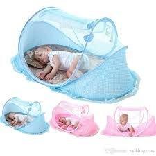 Lit pliant bébé + moustiquaire