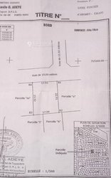 Vente Terrain 416 m² - Calavi