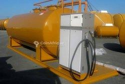 Construction dépôt carburant et approvisionnement