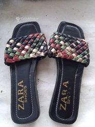 Babouches femme Zara