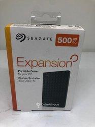 Disque dur externe Seagate Expansion - 500Gb