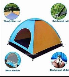 Camping Toile De Tente 4 Places