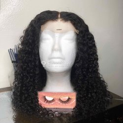 Perruque water curly 100% naturelle