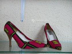 Chaussures wax femme