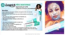 Pate dentifrice Longrich