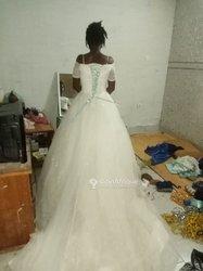 Robe de mariage + traîne