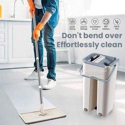 Vadrouille de nettoyage à gratter