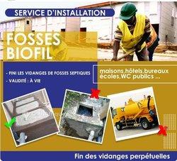 Installation de fosses septiques Biofil