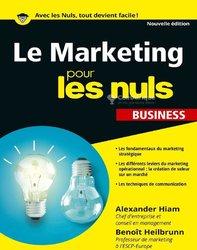 Livre PDF - Le Marketing Pour Les Nuls