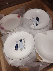 Plats  porcelaine