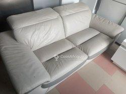 Canapé en cuir 3 places